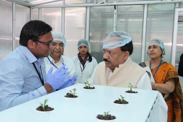 Visit of Dr. Harsh Vardhan_15