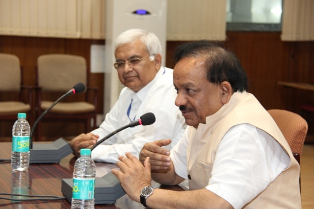 Visit of Dr. Harsh Vardhan_19