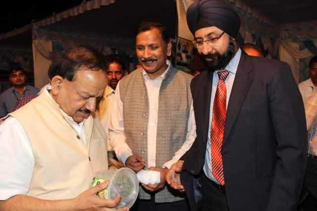 Visit of Dr. Harsh Vardhan_22